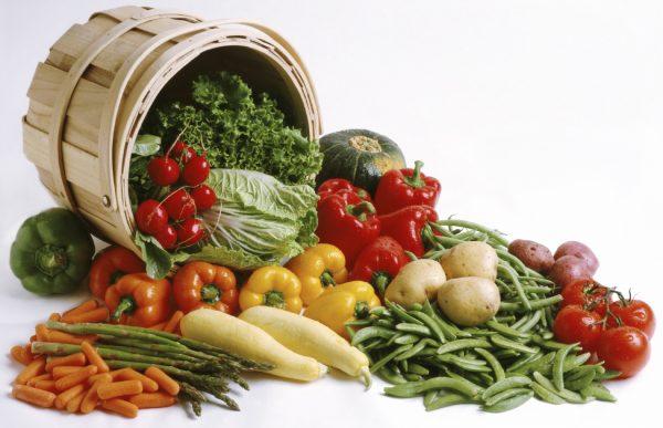 سبزیها و صیفی جات پرمصرف